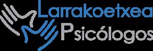 logo slide psicologos larrakoetxea